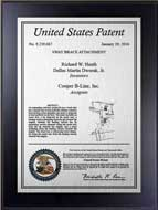Value Patent Plaques-Wood Finish-Contemporary