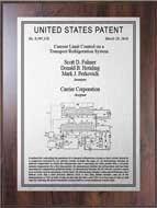 Value Patent Plaques-Wood Finish-Element