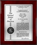 Value Patent Plaques-Solid Wood-Certificate