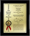 Value Patent Plaques-Solid Wood-Custom