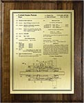 Value Patent Plaques-Solid Wood-Front Page
