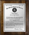 Value Trademark Plaques-Solid Wood