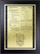 Value Patent Plaques-Wood Finish-Tribute