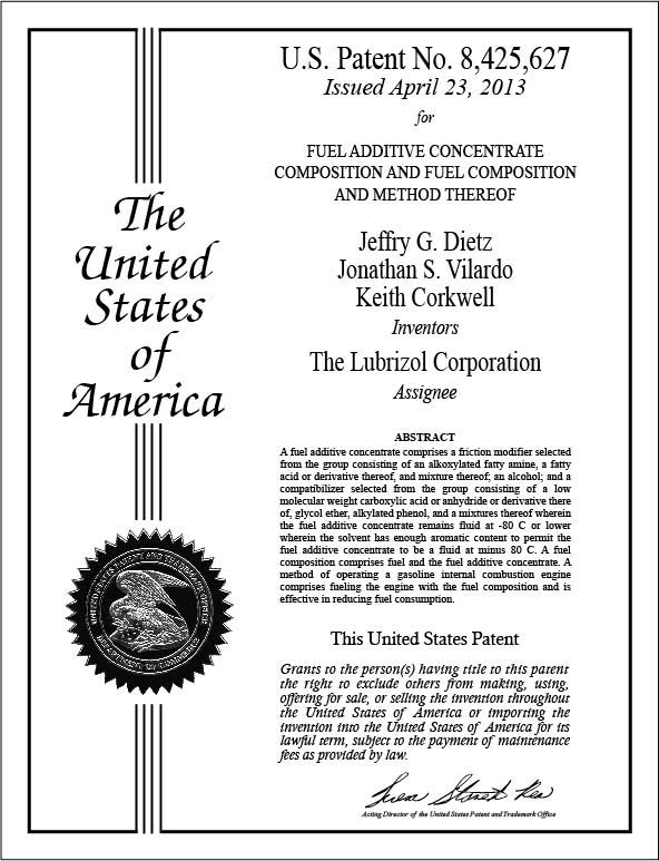 Patent Plaques Certificate Style - Patent certificate template