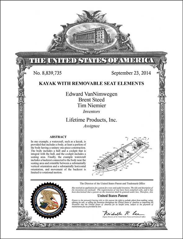 Patent Classic Artwork Proof