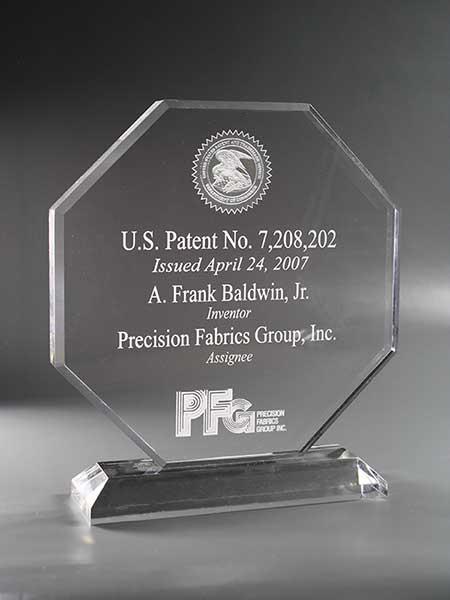 Patent Plaques Desktop Series