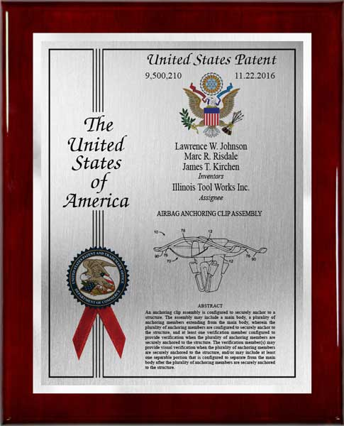 Patent Plaques-Eagle Series-Large