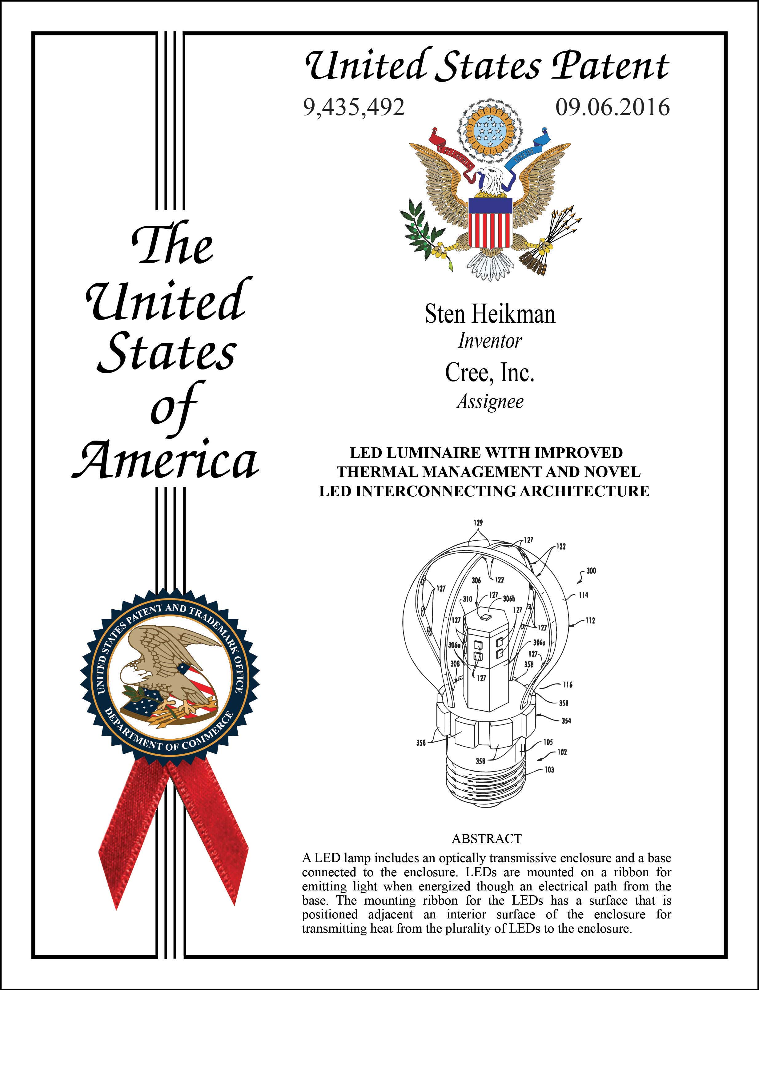 Patent Eagle Artwork Proof