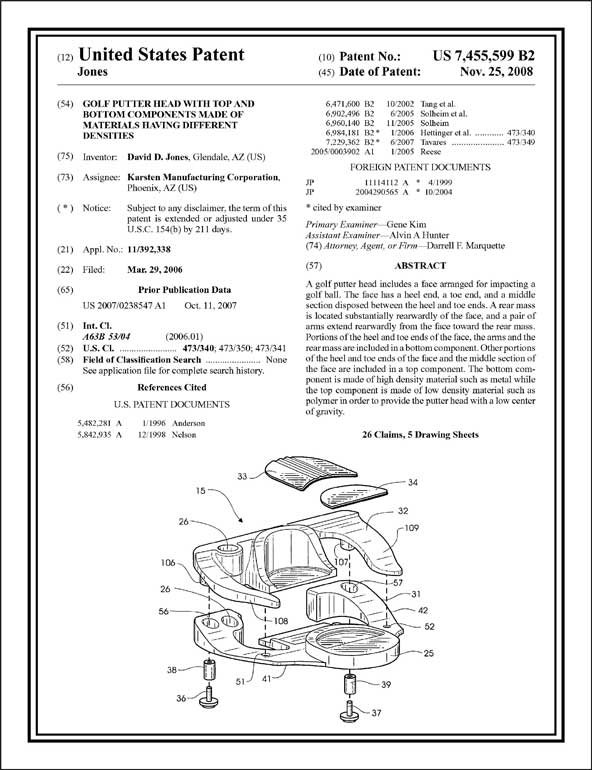 Patent Front Page Artwork Proof