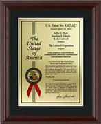 patent-plaques-wood-frame-certificate