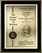 patent-plaques-metal-frame-custom