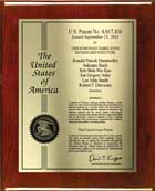 Patent Plaques - Certificate Series