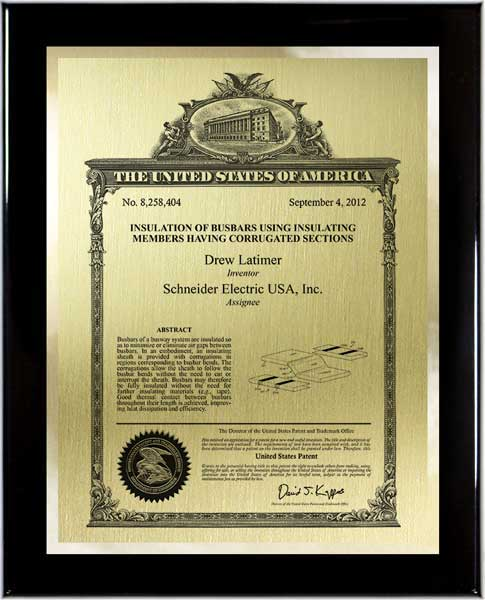 Patent Plaques-Classic Series-Large